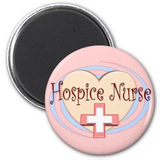 Hospice Nurse gifts 6 Cm Round Magnet