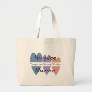 Hospice Nurse Gifts Large Tote Bag