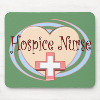 Hospice Nurse gifts Mouse Mat
