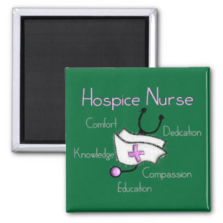 Hospice Nurse Gifts Square Magnet