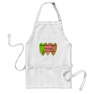 """Hospice Nurse """"God Could Not Be Everywhere"""" Adult Apron"""