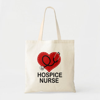 Hospice Nurse Heart Stethoscope
