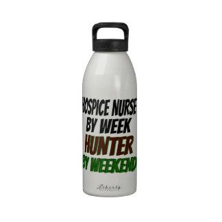Hospice Nurse Hunter Drinking Bottle