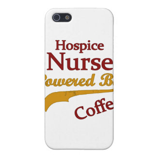 Hospice Nurse Powered By Coffee iPhone 5 Case