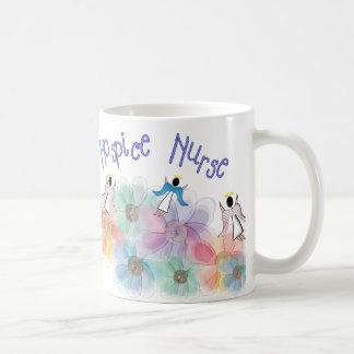 Hospice Nurse WHISPY Angels Design Mug
