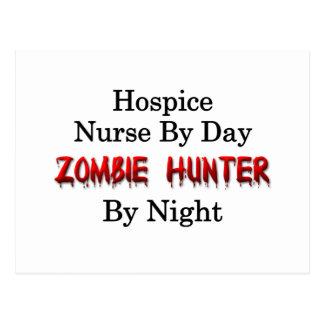 Hospice Nurse/Zombie Hunter Postcard