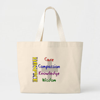 Hospice Worker Gifts Large Tote Bag