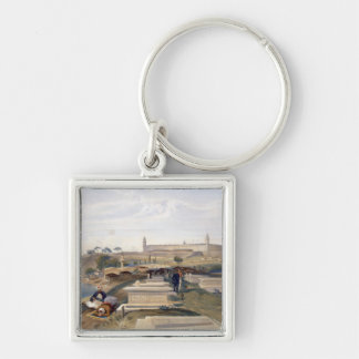 Hospital and Cemetery, Scutari, plate from 'The Se Keychain