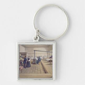 Hospital at Scutari, detail of Florence Nightingal Key Ring