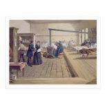 Hospital at Scutari, detail of Florence Nightingal Post Cards