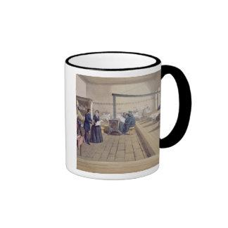 Hospital at Scutari, detail of Florence Nightingal Ringer Mug