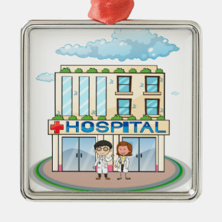 Hospital Christmas Ornament