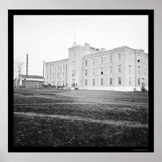 Hospital of the University of Nashville 1864 Poster