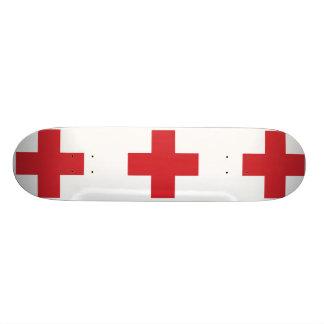 Hospital Ship Of The Regia Marina Italy flag Skateboard Deck