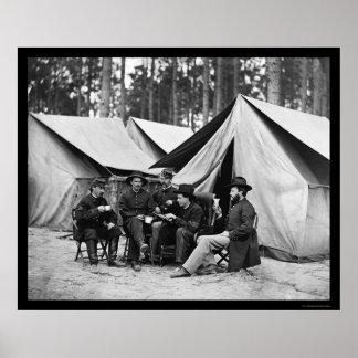 Hospital Stewards at Petersburg, VA 1864 Poster