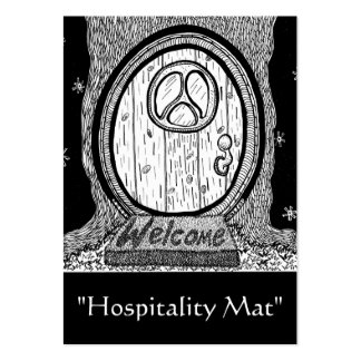 """""""Hospitality Mat"""" ACEO Art Trading Card Business Card Template"""