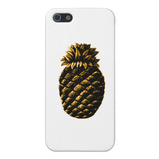 Hospitality Pineapple Gold jGibney The MUSEUM Zazz iPhone 5 Covers