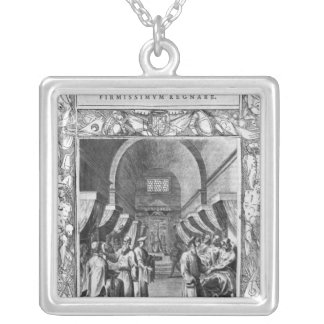 Hospitallers of the Order of St. John Silver Plated Necklace