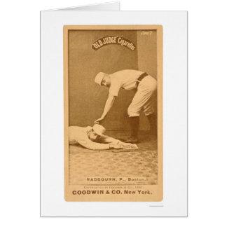 Hoss Radbourn Baseball 1887 Card