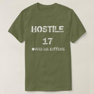 Hostile 17 Owes Me Kittens T-Shirt