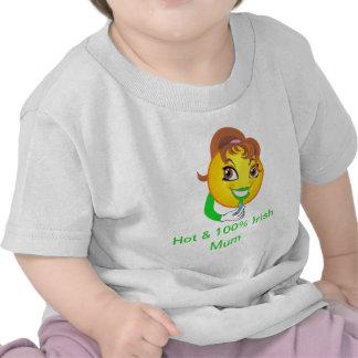 Hot & 100% Irish Mum Infant Tshirt
