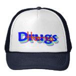 Hot 110 Drugs Hat, Back & White