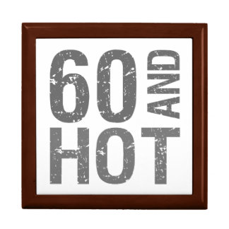 Hot 60th Birthday Large Square Gift Box