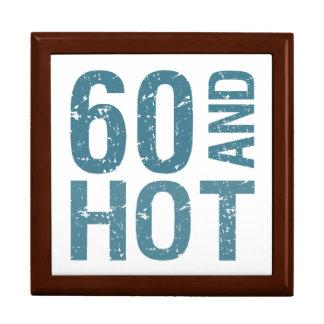 Hot 60th Birthday Trinket Boxes