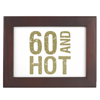 Hot 60th Birthday Memory Boxes