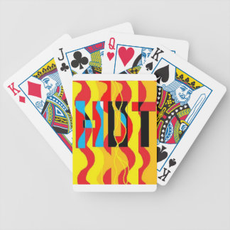 HOT abstract design Bicycle Playing Cards