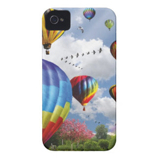 Hot air ball remunerations iPhone 4 cover