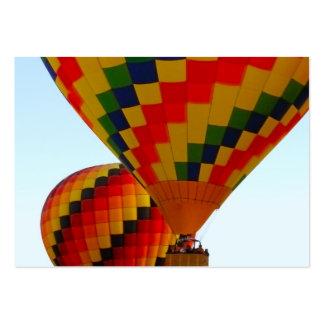 hot air ballon business cards