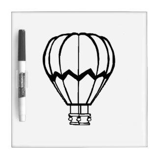 Hot Air Ballon Dry Erase White Board