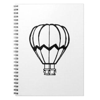 Hot Air Ballon Notebooks