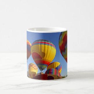 Hot Air Ballons Basic White Mug