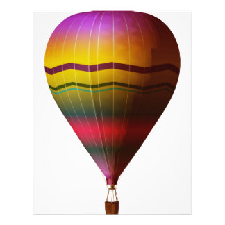 Hot Air Balloon 3 21.5 Cm X 28 Cm Flyer