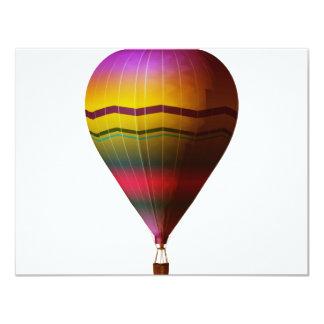 Hot Air Balloon 3 11 Cm X 14 Cm Invitation Card