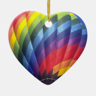 Hot Air Balloon (4) Christmas Ornament