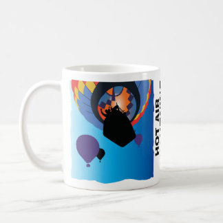 Hot Air Balloon, add your date/location (optional) Coffee Mug