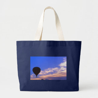 Hot Air Balloon at Dawn Large Tote Bag