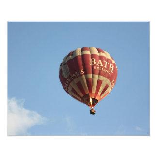 Hot air balloon, Bath, Somerset, UK Photograph