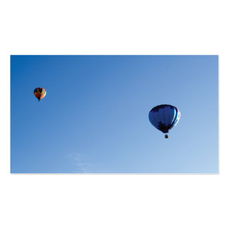 Hot air balloon Double-Sided standard business cards (Pack of 100)