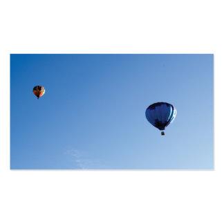 Hot air balloon business card templates