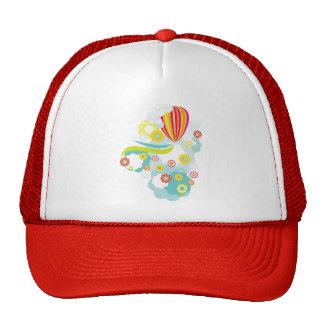 Hot air balloon cap