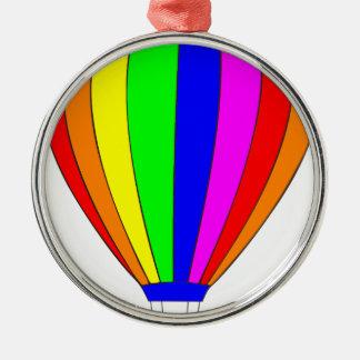 Hot Air Balloon Christmas Ornament