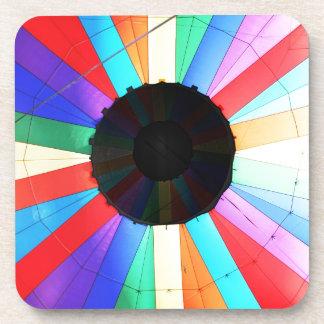 Hot Air Balloon Colors Beverage Coasters
