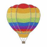 Hot Air Balloon Embroidered Polo Shirts