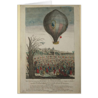 Hot-Air Balloon Experiment Card