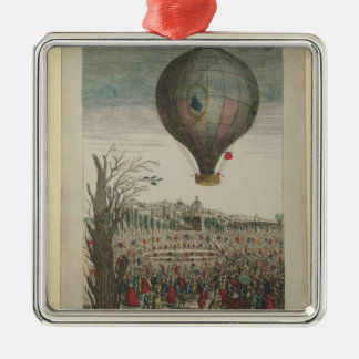 Hot-Air Balloon Experiment Christmas Ornament