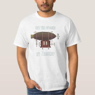 Hot Air Balloon Fantasy Travel Vintage Look T-Shirt